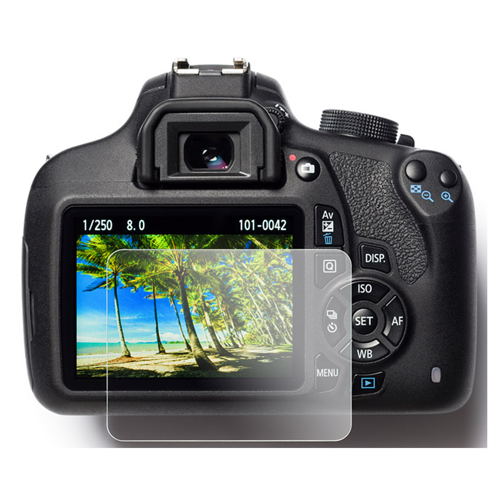 EasyCover Glasfolie Nikon D3400