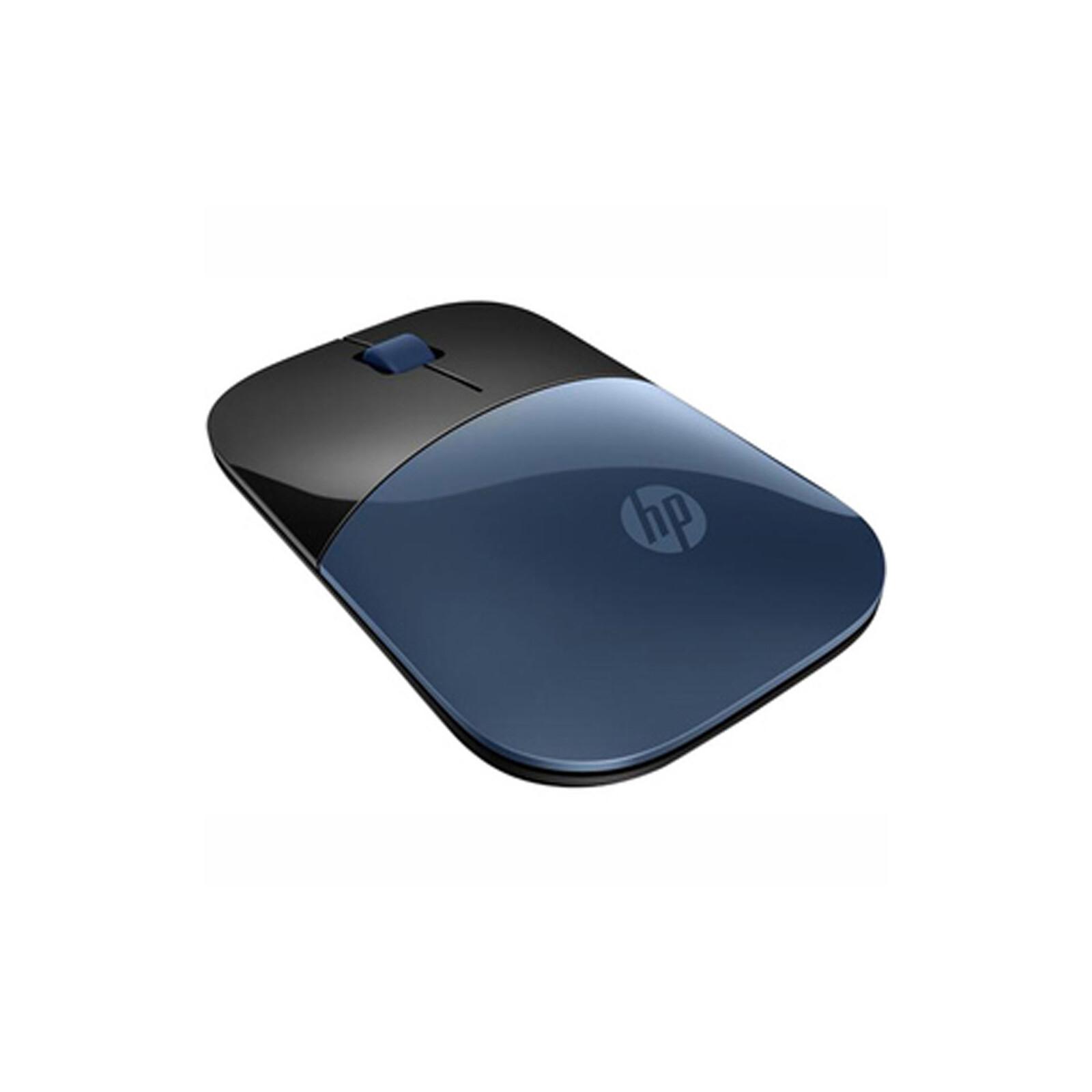 HP Z3700 Blue Wireless Maus