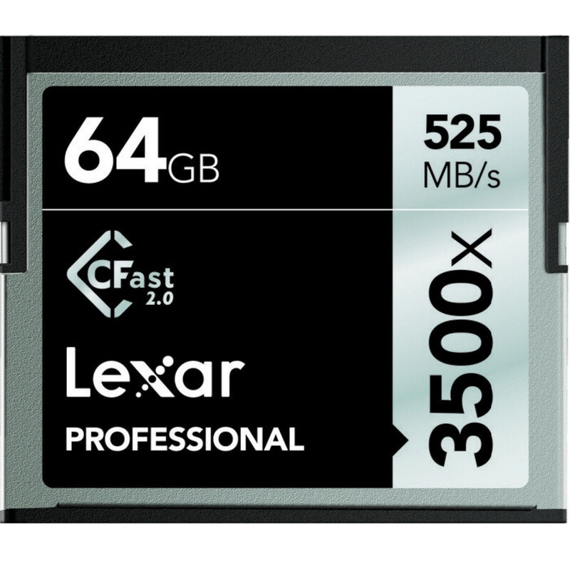 Lexar Cfast 64GB 525MB/s