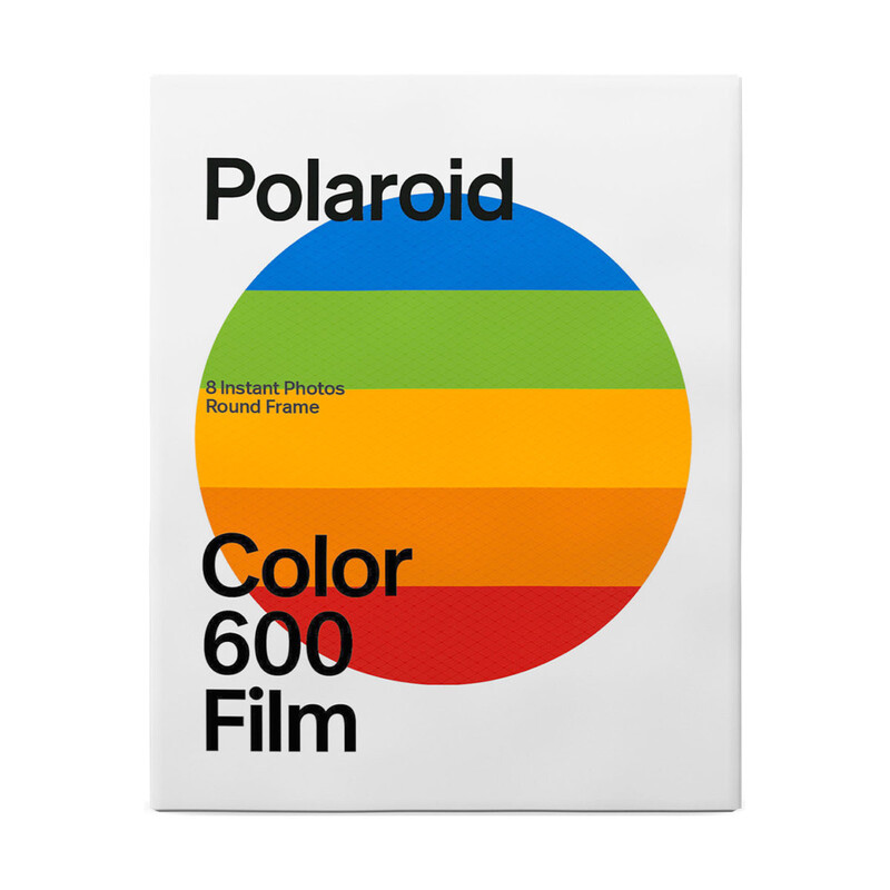 Polaroid 600 Color Round Frame