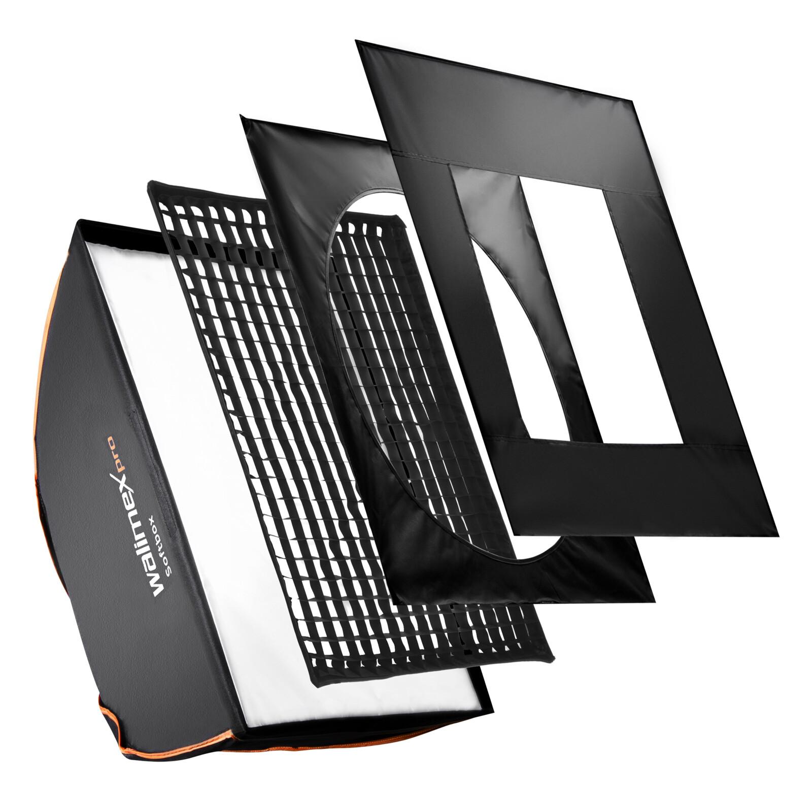 walimex pro Softbox PLUS OL 75x150cm Broncolor