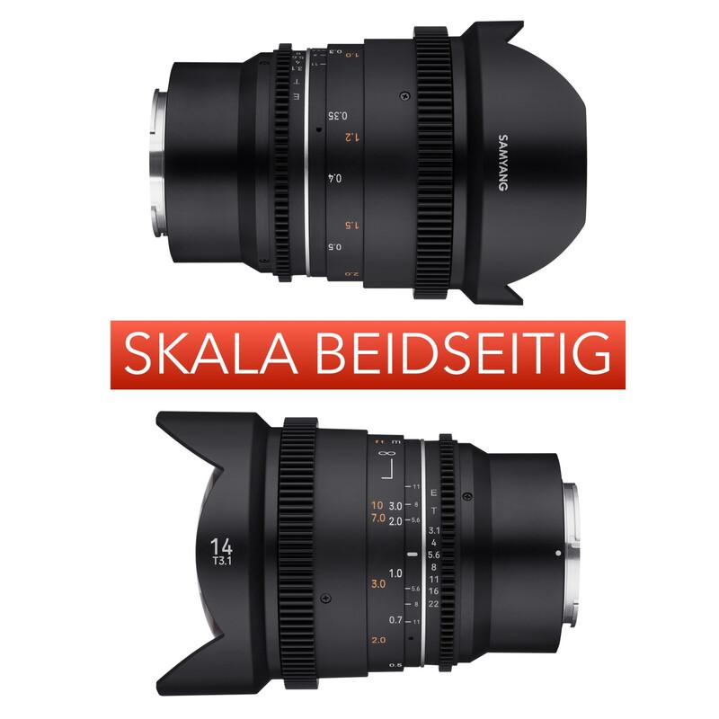 Samyang MF 14/3,1 VDSLR MK2 Canon RF
