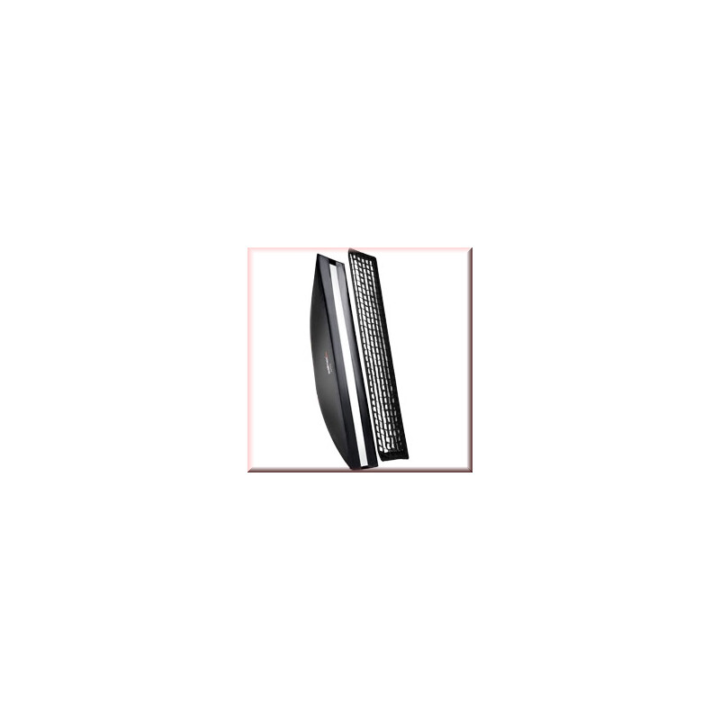walimex pro Softbox PLUS OL 25x180cm Aurora/Bowens
