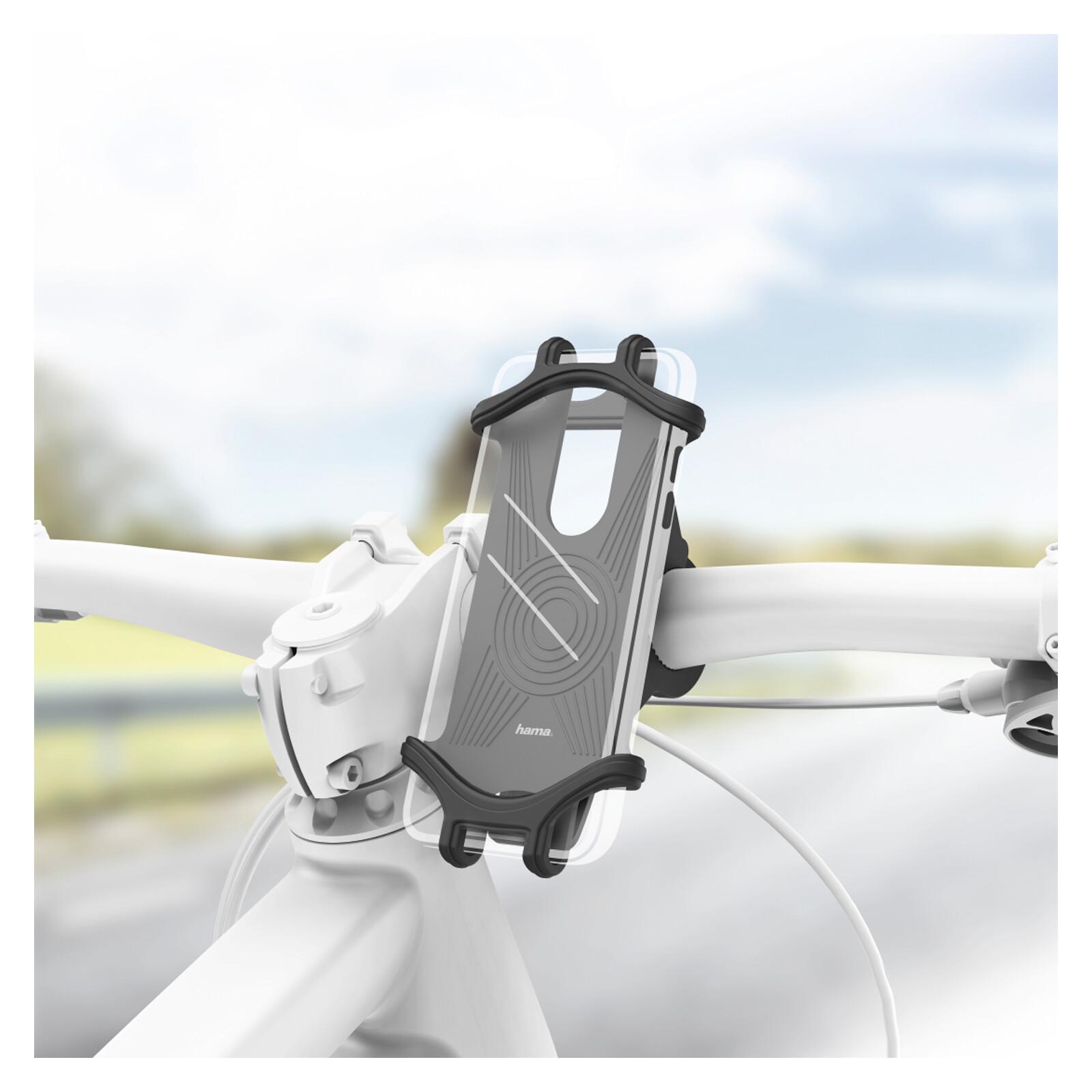 Hama 183250 Uni-Smartphone-Fahrradhalter 6-8cm