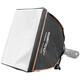 walimex pro Softbox 40x40cm für Kompaktblitze