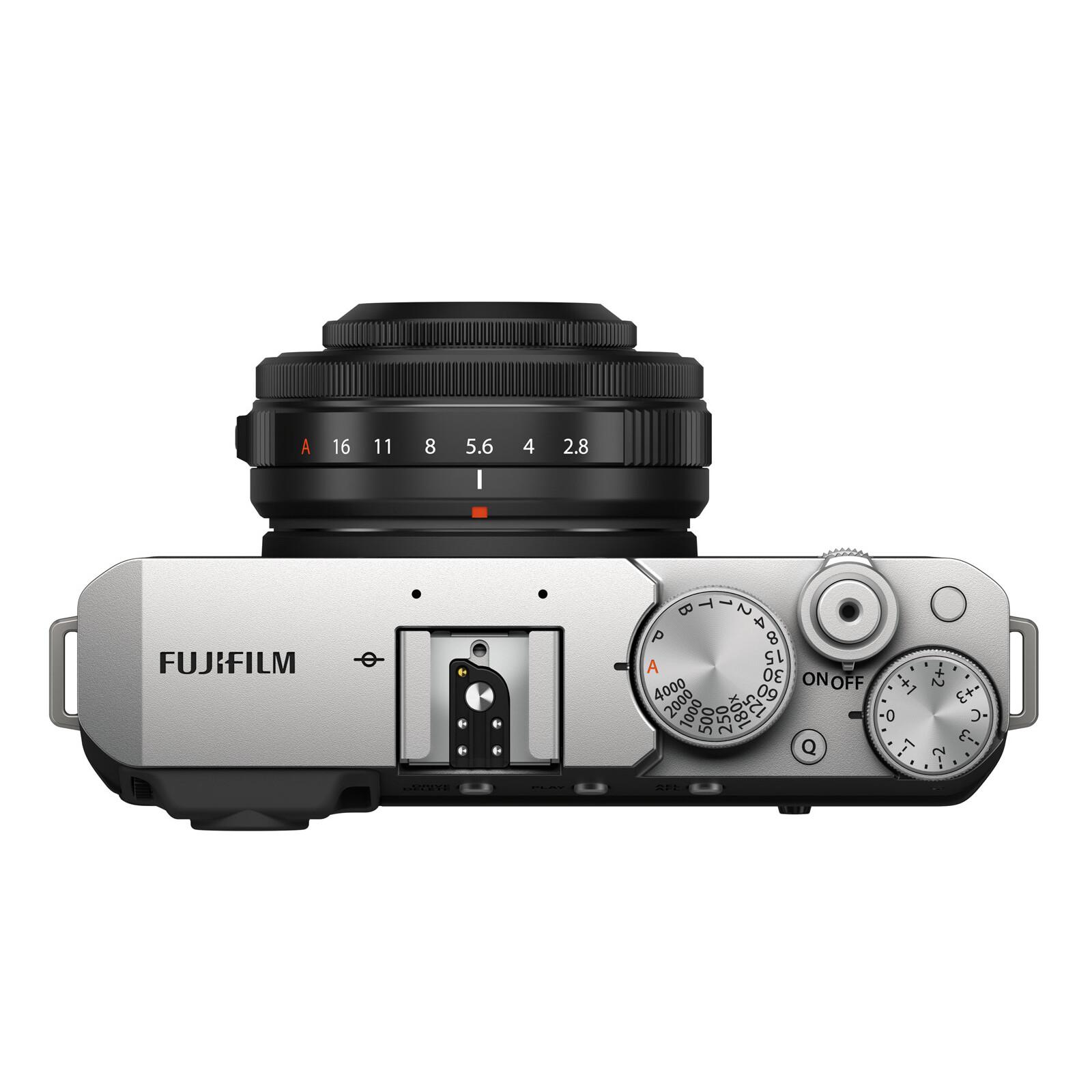 Fujifilm X-E4 silver / XF27mm Kit