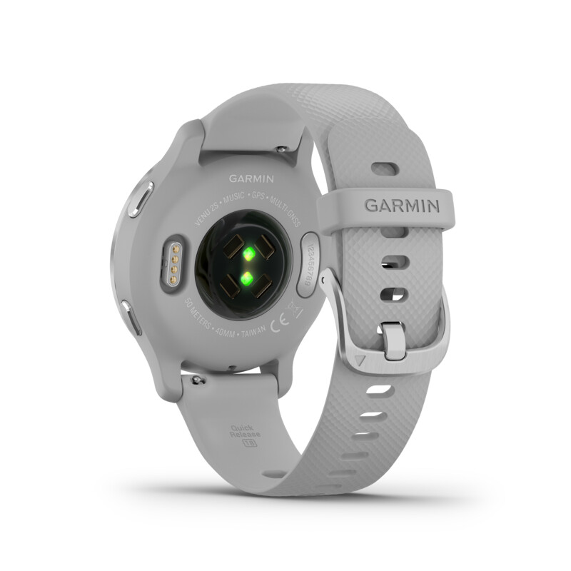 Garmin Venu 2S Hellgrau/Silber