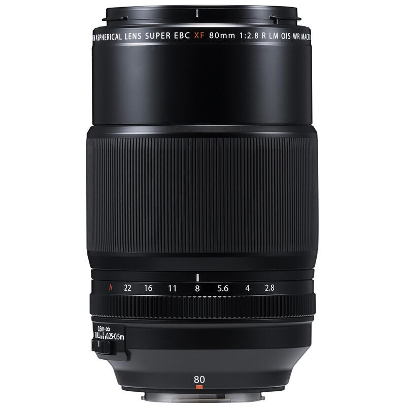 Fujinon XF-80/2,8R LM OIS WR Makro + UV Filter
