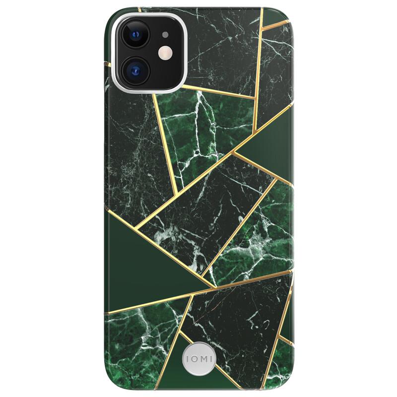 IOMI Back Design Apple iPhone 11 marble black