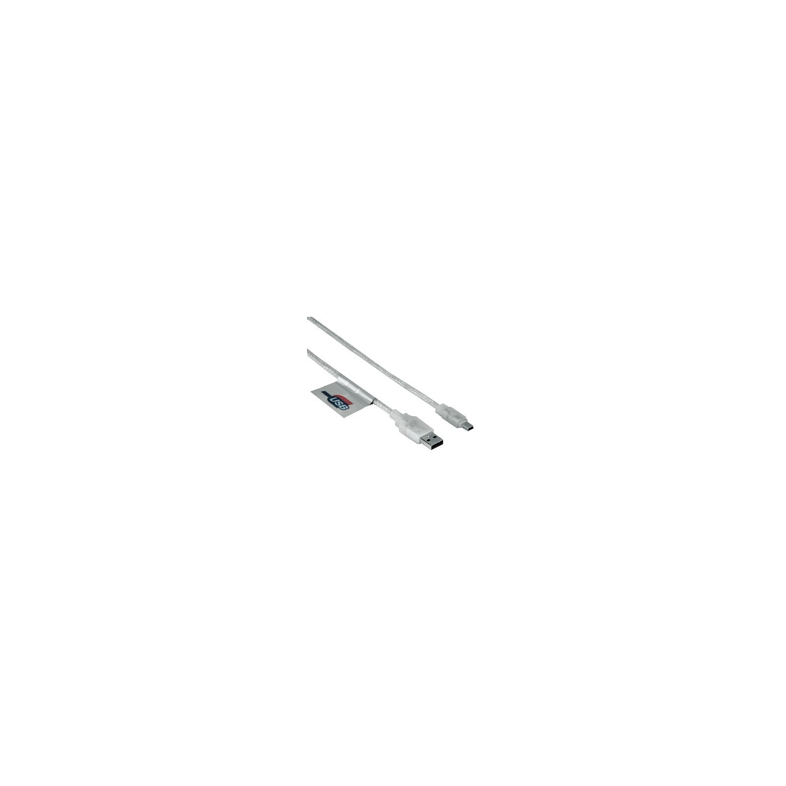 Hama 39744 Mini-USB-2.0-Kabel, vergoldet, doppelt geschirmt,