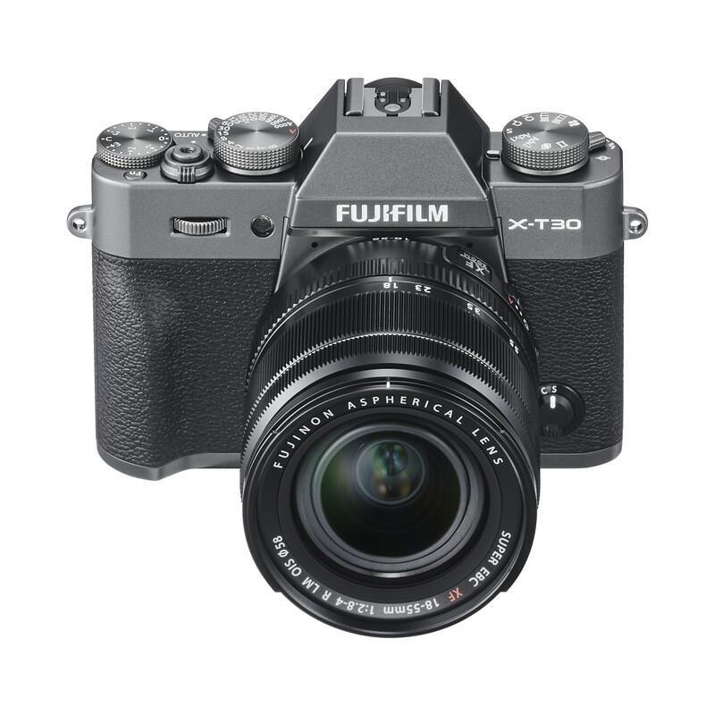 Fujifilm X-T30 + XF 18-55 + XF 55-200 OIS KIT anthrazit