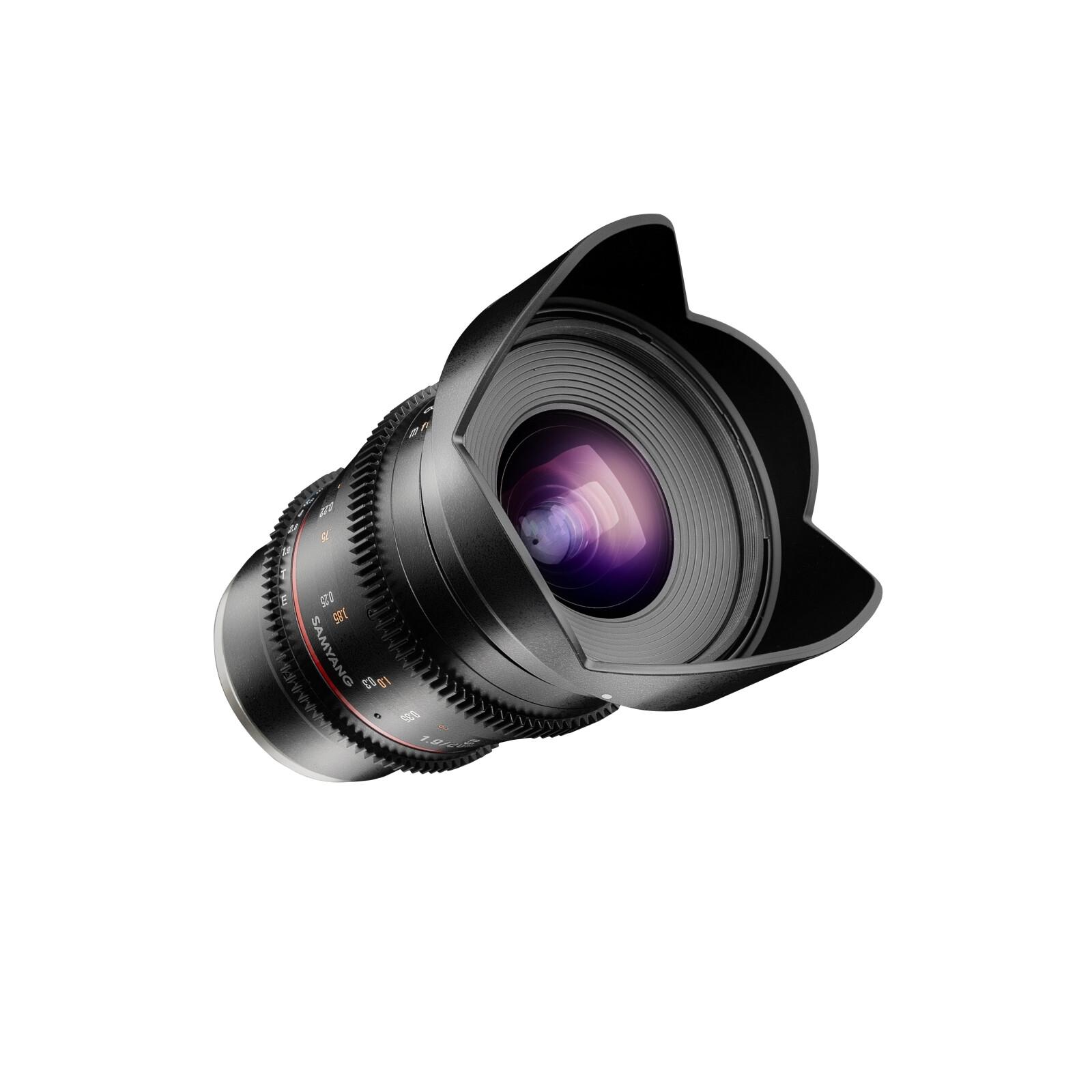 Samyang MF 20/1,9 Video DSLR Sony A