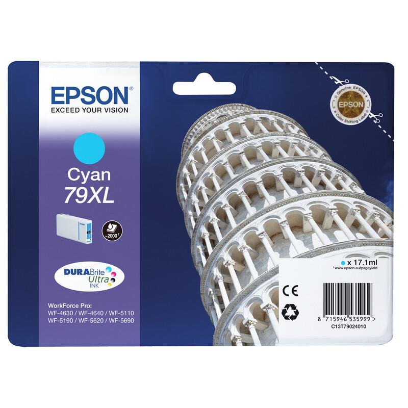 Epson 79XL T7902 Tinte Cyan 17,1ml