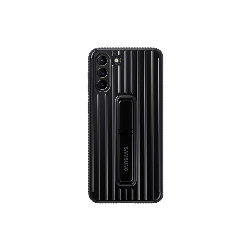 Samsung Back Cover Protective Standing Galaxy S21+ black