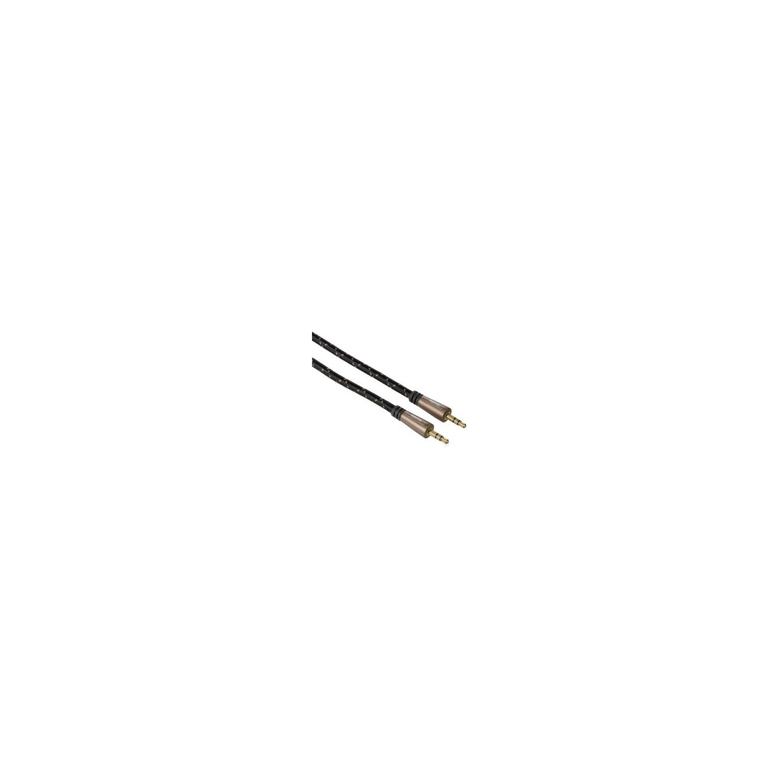Hama 122328 Audio-Kabel 3,5-mm-Klinken-Stecker Metall 3m