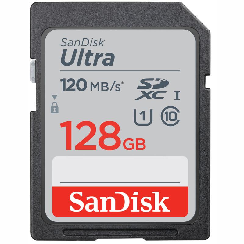 SanDisk SDHC 128GB Ultra 120MB/s