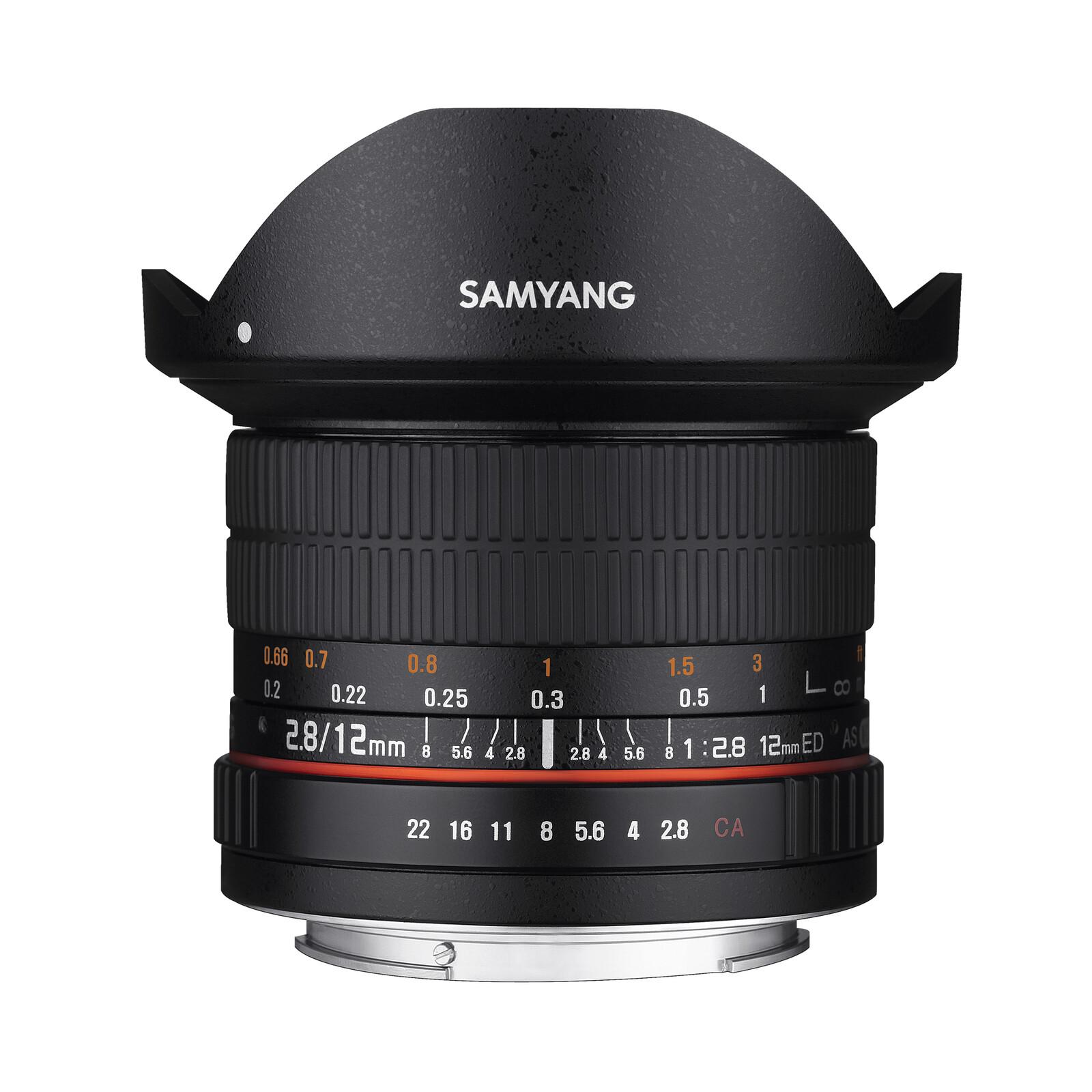 Samyang MF 12/2,8 Fisheye Fuji X