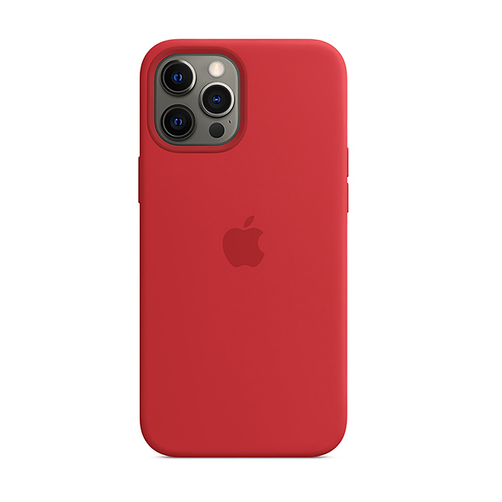 Apple iPhone 12 Pro Max Silikon Case mit MagSafe product red