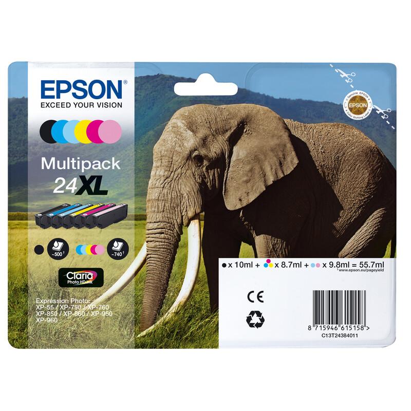 Epson 24XL T2438 Tinte Multipack