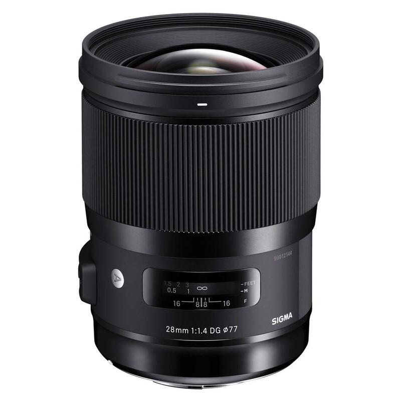Sigma ART 28/1,4 DG HSM Canon + UV Filter
