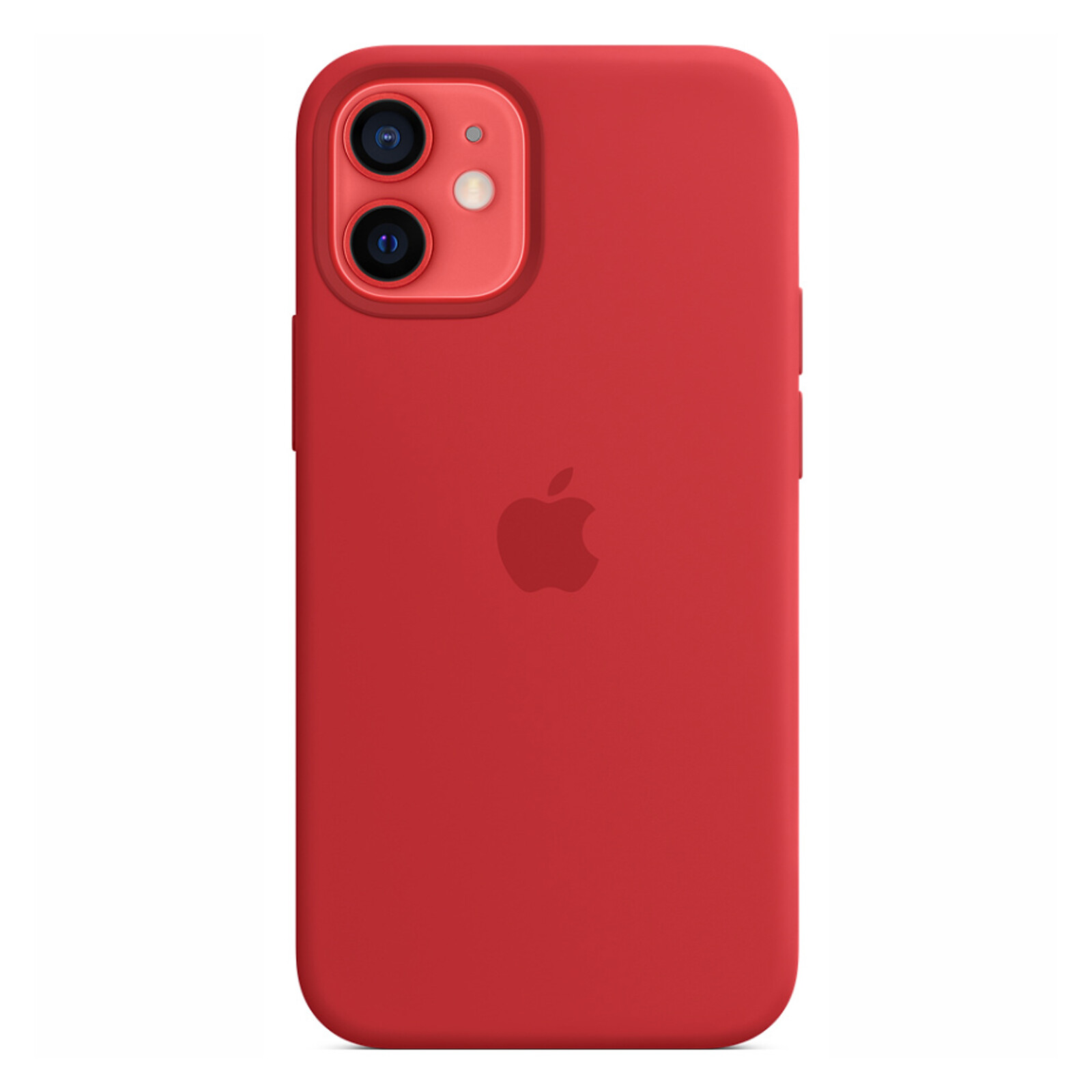 Apple iPhone 12 mini Silikon Case mit MagSafe rot