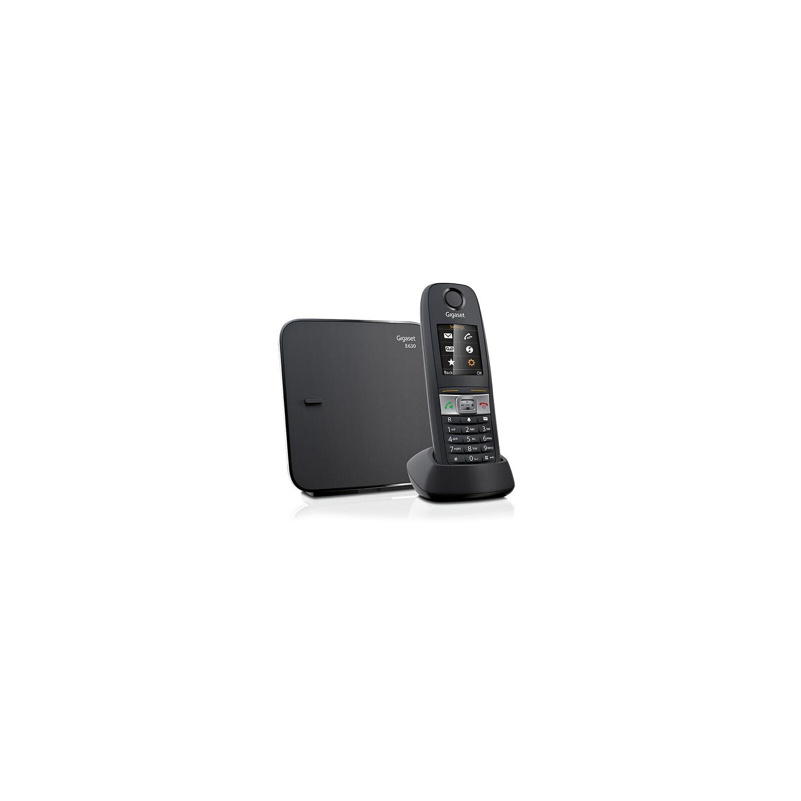 Gigaset E630 Schnurlostelefon black