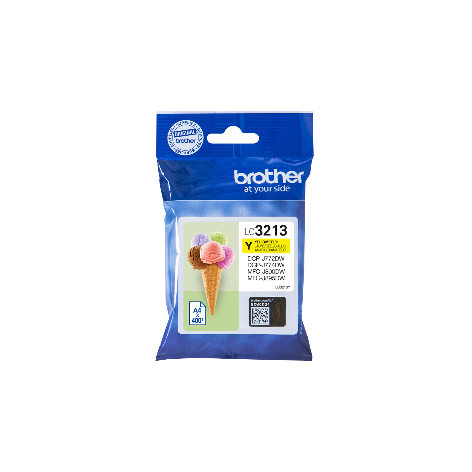 Brother LC3213Y Tinte Yellow