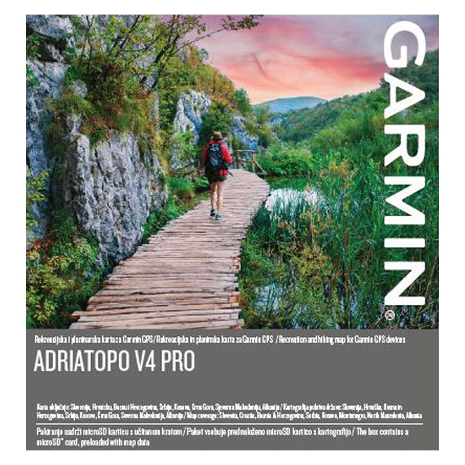 Garmin Topo v4 PRO Adria mSD/SD