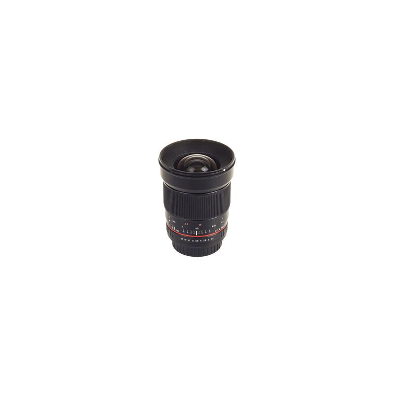 Samyang MF 24/1,4 Sony A + UV Filter