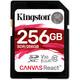 Kingston SDXC 256GB Canvas React 100MBs