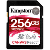 Kingston SDXC 256GB Canvas React 100MBs Doppelpack