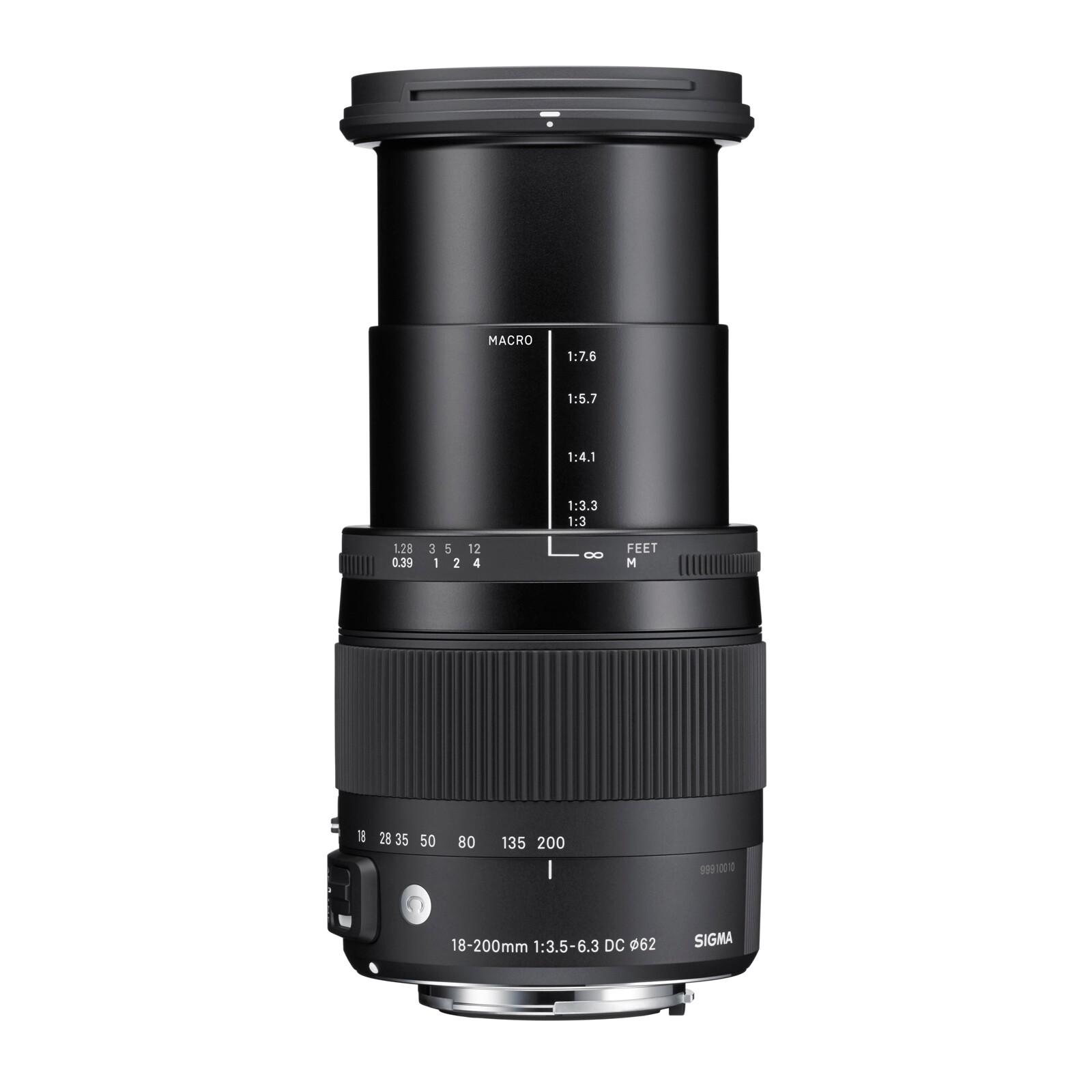Sigma 18-200/3,5-6,3 DC OS HSM Sigma + UV Filter