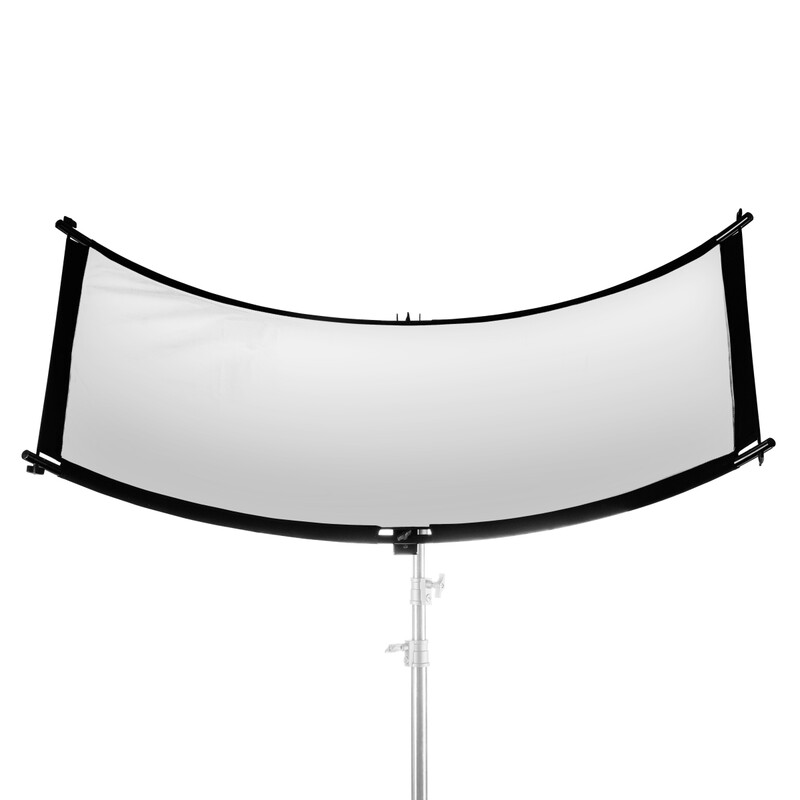 Walimex pro 3in1 Reflektor Halfpipe, konkav 150x60