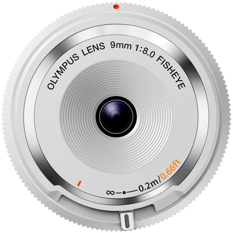 Olympus 9/8.0 Fisheye Weiß