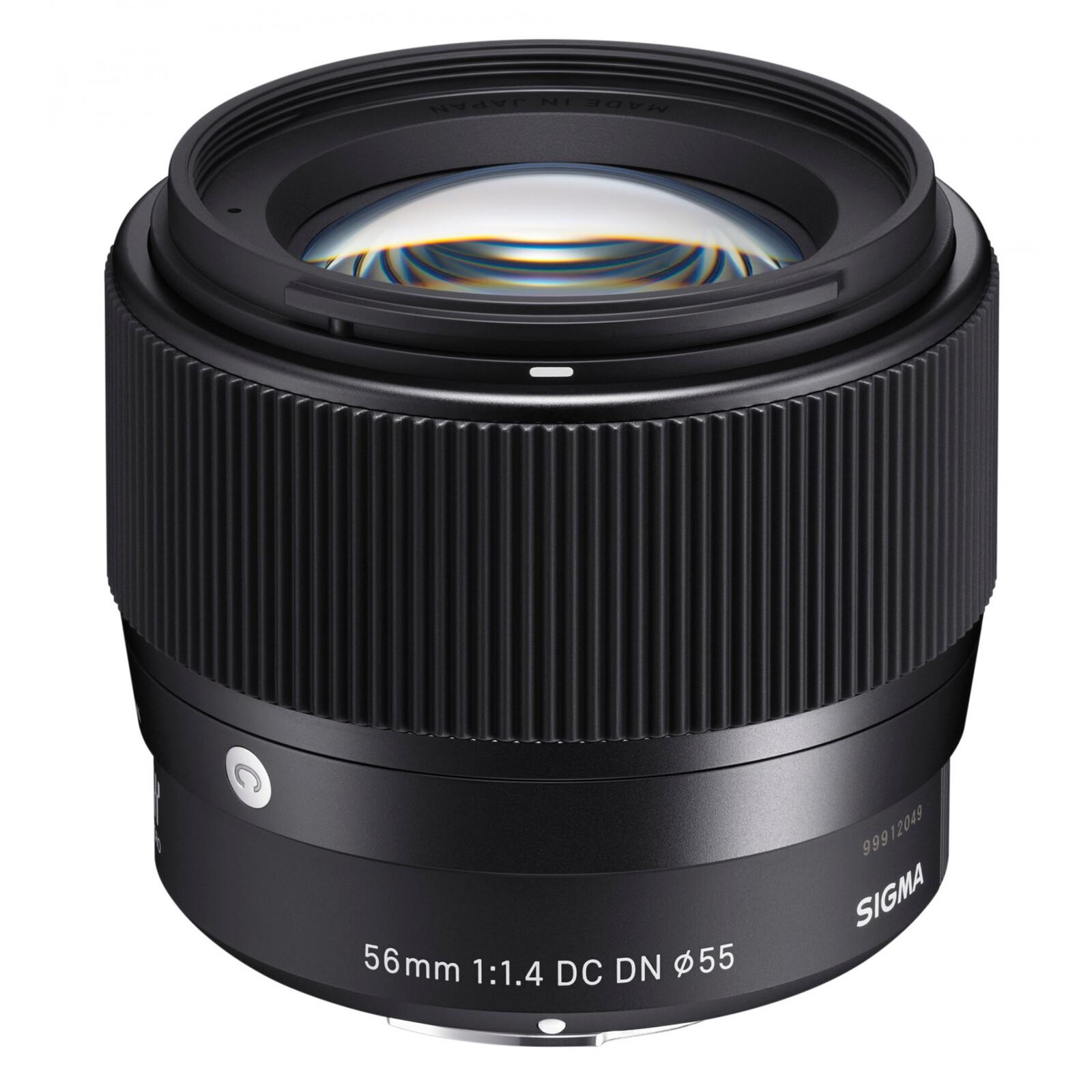 Sigma 56/1,4 DC DN L-Mount + UV Filter