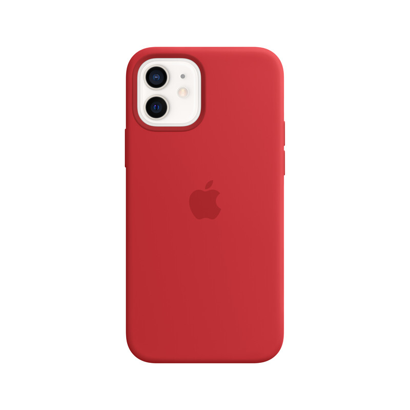Apple iPhone 12/12 Pro Silikon Case mit MagSafe product red