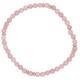 Armband Jade pink rosevergoldet echt Silber