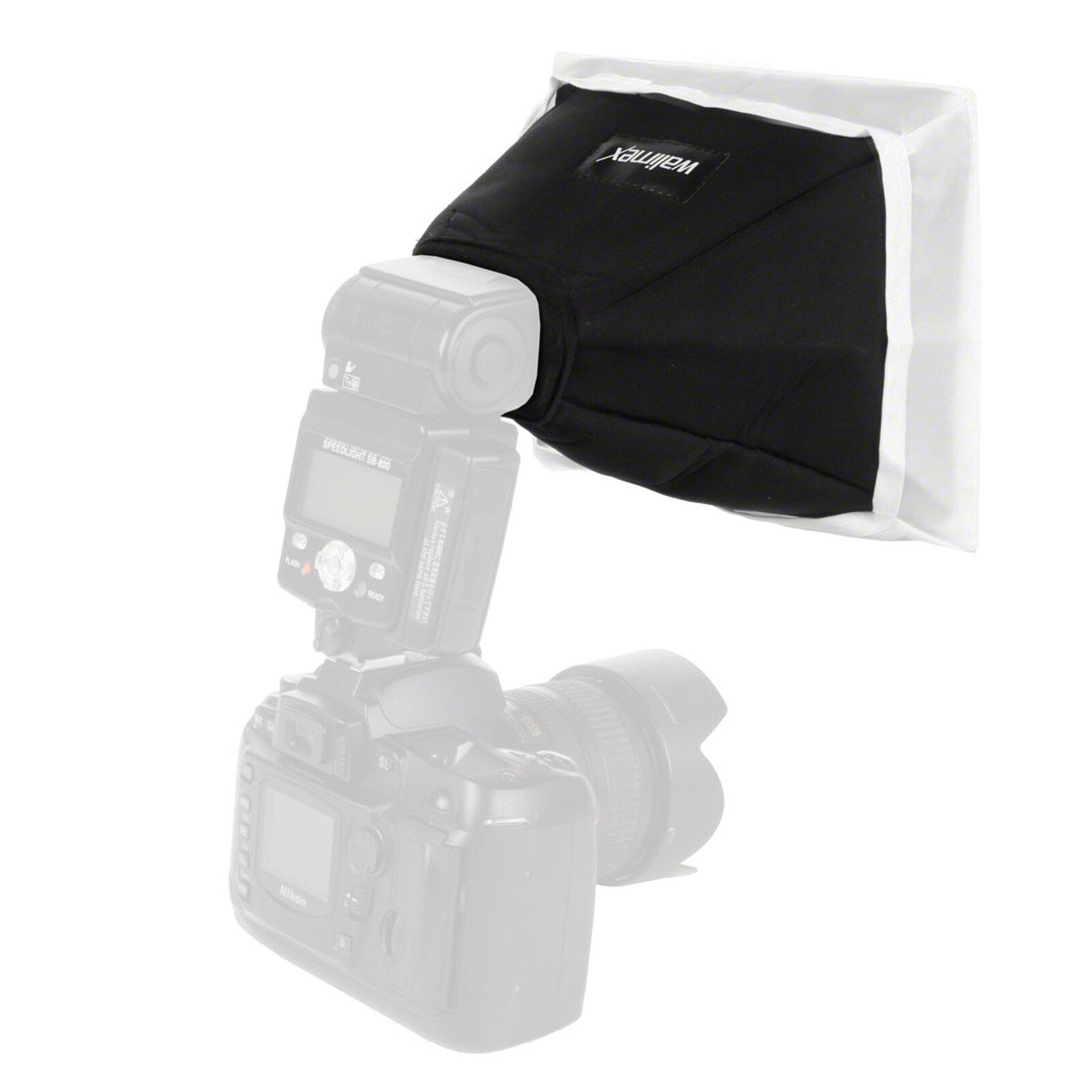 walimex Universal Softbox 15x20cm f. Kompaktblitze