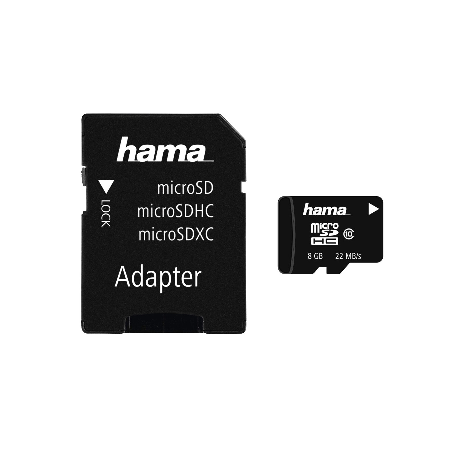 Hama microSDHC 8GB 22MB/s