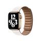 Apple Watch 40mm Lederarmband mit Endstück kreide groß