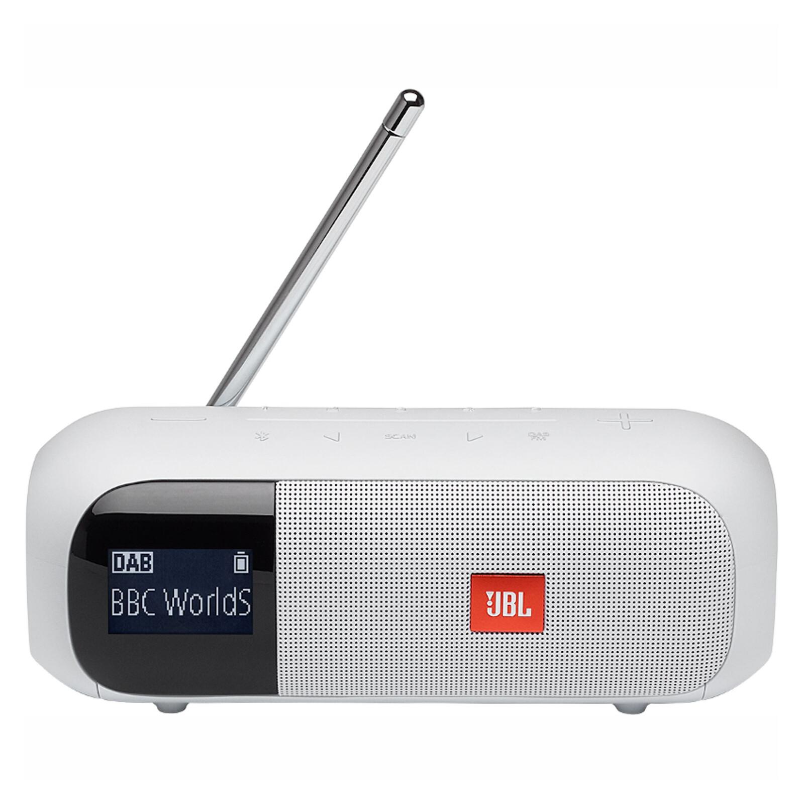 JBL Tuner 2 BT Lautsprecher mit Radio weiß