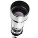 walimex pro 19591 650-1300/8-16 CSC Canon M Weiß + UV Filter