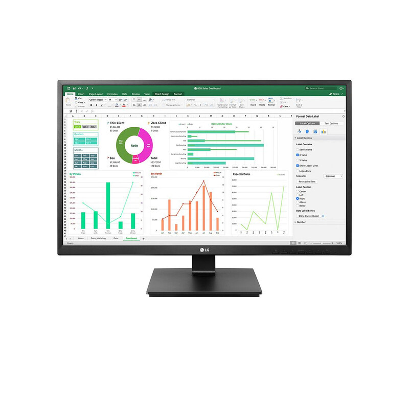 LG 24BN550Y 60,96cm 24Zoll Full-HD LED Monitor