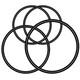 Garmin Varia O-Ring für Sattelstützenhalterung