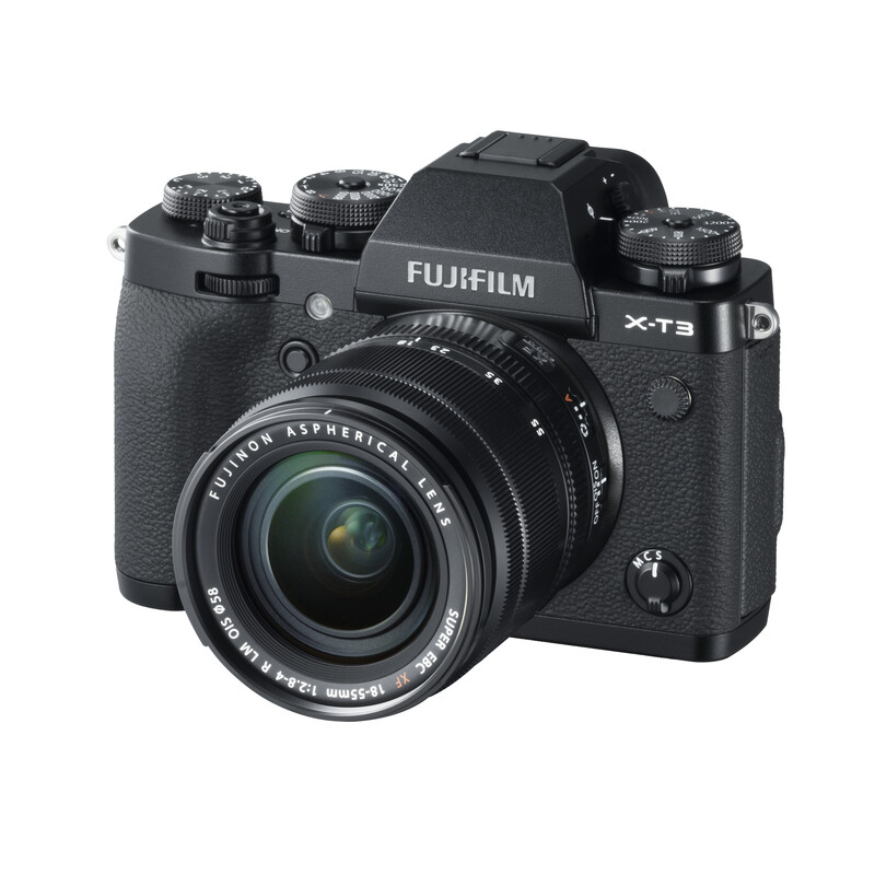 Fujifilm X-T3 + XF 18-55/2,8-4,0 R LM OIS Schwarz