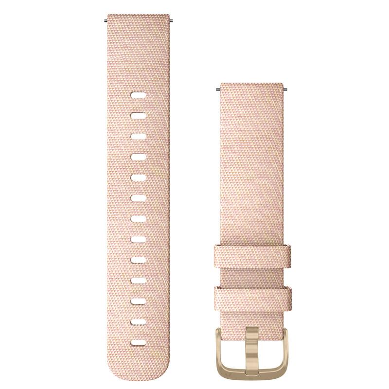 Garmin Uhrenarmband Vivomove 20mm Nylon Rosa/Jaquard