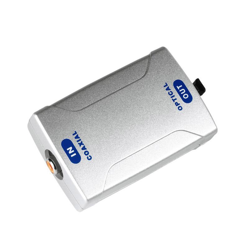Hama 42906 Digital-Konverter Koax In/Optical OUT