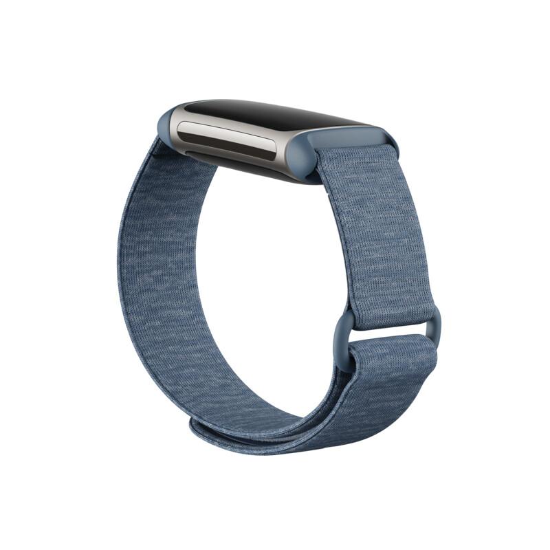 Ersatzband Fitbit Charge 5 Hook & Loop Band Coastal Blue Large