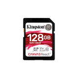 Kingston SDXC 128GB Canvas React 100MBs Doppelpack