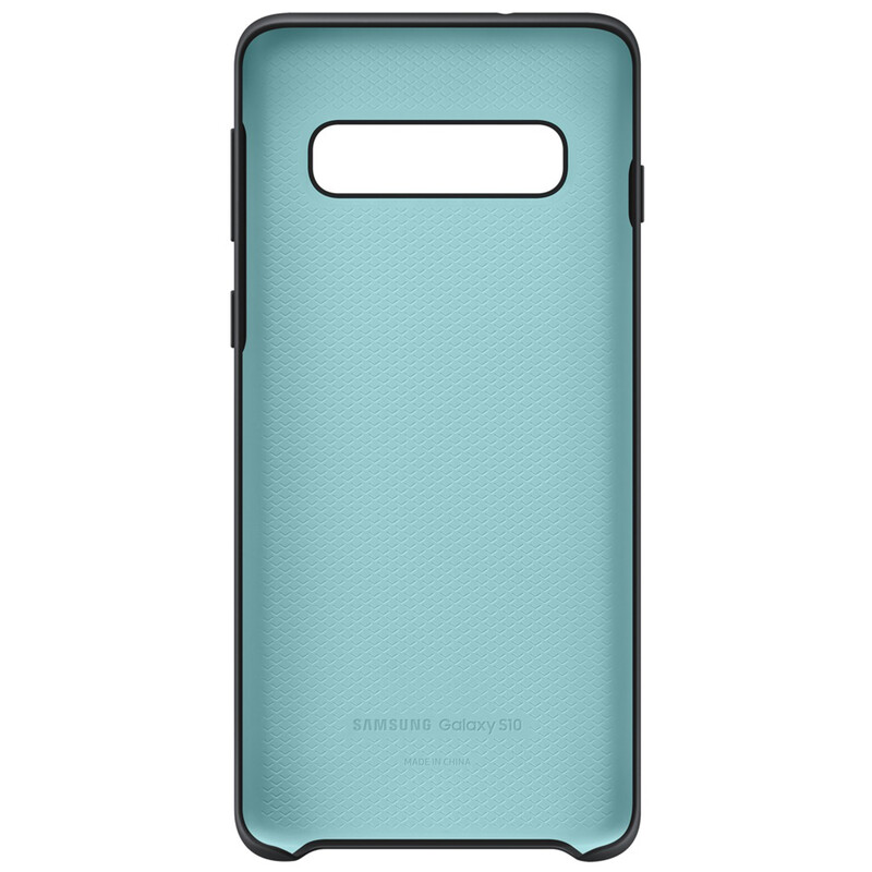 Samsung Back Cover Silicone Galaxy S10 schwarz
